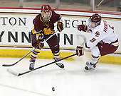 Emmanuelle Blais (Minnesota-Duluth - 47), Allie Thunstrom (BC - 9) - The University of Minnesota-Duluth Bulldogs defeated the Boston College Eagles 3-0 on Friday, November 27, 2009, at Conte Forum in Chestnut Hill, Massachusetts.