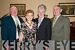 Committee: Members of the Clounmacon Community Centre Social at the Listowel Arms Hotel on Saturday night were, l-r: Tom Murphy, Angela Carmody, Mossie Molyneaux and Michael OSullivan..