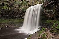 Sgwd yr Eira Waterfall - River Hepste, near Ystradfellte, Brecon Beacons national park, Wales