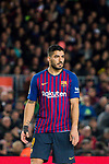 Luis Alberto Suarez Diaz of FC Barcelona looks on during the La Liga 2018-19 match between FC Barcelona and RC Celta de Vigo at Camp Nou on 22 December 2018 in Barcelona, Spain. Photo by Vicens Gimenez / Power Sport Images