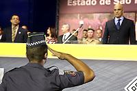 SÃO PAULO,SP, 19.11.2015 - SEGURANÇA-SP - Alexandre de Moraes, secretário da Segurança Pública durante formatura de 2.820 soldados da Polícia Militar no Sambódromo do Anhembi, zona norte de São Paulo, SP, nesta quarta-feira (18). (Foto: Fernando Neves / Brazil Photo Press)