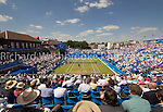 Ground View of centre court match between Tomas Berdych (CZE) beat Adrian Mannarino (FRA)  7:6  6:4<br /> <br /> Aegon Championships 12th June 2014  4th day<br /> <br /> Aegon Championships 12th June 2014  4th day