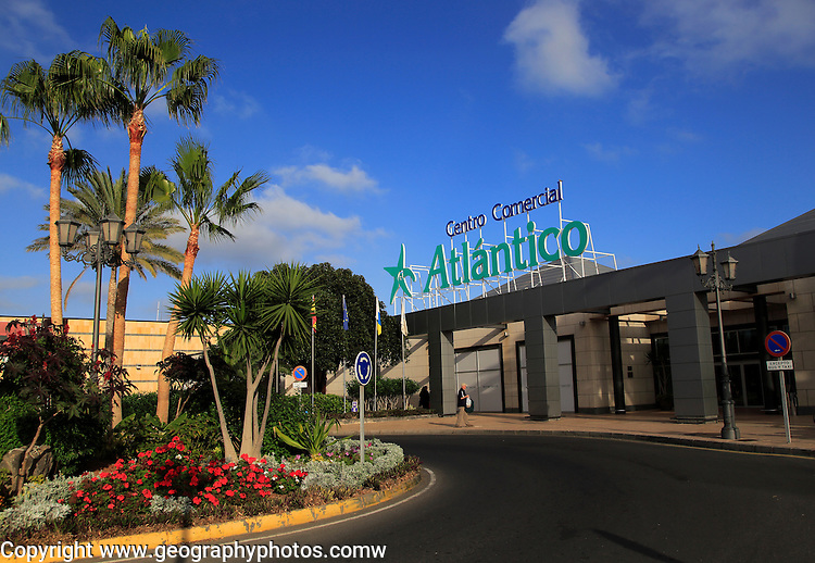 Centro Comercial Atlantico, Atlantic shopping centre, Caleta de Fuste, Fuerteventura, Canary Islands, Spain