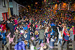 Happy New Year - Hugh crowds gathered in Waterville to Ring in the New Year with music and craic on the street even the weather allowed a brief reprieve for the festivities.