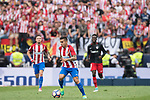 Kevin Gameiro of Atletico de Madrid in action during their La Liga match between Atletico de Madrid vs Athletic de Bilbao at the Estadio Vicente Calderon on 21 May 2017 in Madrid, Spain. Photo by Diego Gonzalez Souto / Power Sport Images