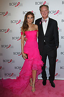 """Amy and Brian France attend The Breast Cancer Research Foundation """"Super Nova"""" Hot Pink Party on May 12, 2017 at the Park Avenue Armory in New York City."""
