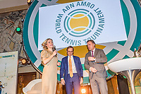 Rotterdam, Netherlands, 09 Februari, 2018, City Hall, Official Draw,    Ahoy director Jolanda Jansen<br /> Photo: Tennisimages/Henk Koster