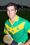 Sean Murnane capt of the Kilmoyley Senior Hurling Team