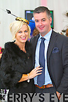 Orlagh Winters and George Savage, Tralee pictured at Galway Races ladies day on Thursday at Ballybrit racecourse.