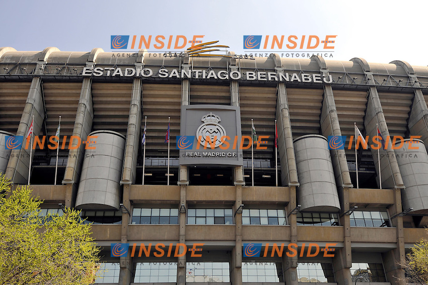 Panoramica Stadio Santiago Bernabeu Real Madrid.Madrid 27/3/2012 .Foto Insidefoto / Michael Weber / EXPA/ Eibner/ .ITALY ONLY