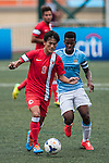 Manchester City vs HKFA U-23 during the Day 3 of the HKFC Citibank Soccer Sevens 2014 on May 25, 2014 at the Hong Kong Football Club in Hong Kong, China. Photo by Xaume Olleros / Power Sport Images