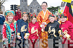 Members of the Listowel preschoolers Lady birds taking part in the Listowel .St Patrick's Day parade on Sunday..   Copyright Kerry's Eye 2008