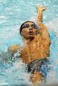 Ryosuke Irie (JPN), .April 3, 2012 - Swimming : .JAPAN SWIM 2012, Men's 100m Backstroke Heat .at Tatsumi International Swimming Pool, Tokyo, Japan. .(Photo by Daiju Kitamura/AFLO SPORT) [1045]