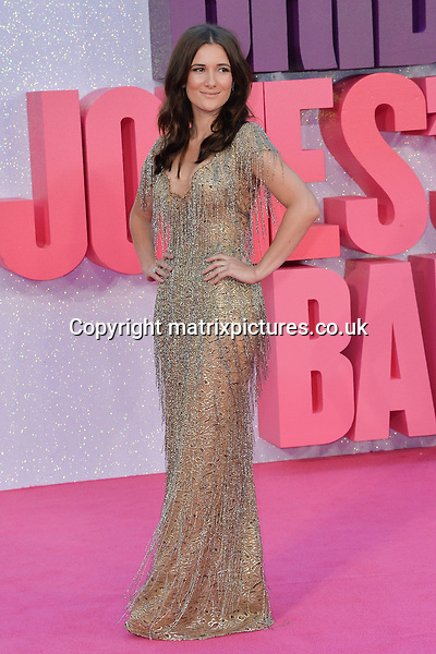 NON EXCLUSIVE PICTURE: MATRIXPICTURES.CO.UK<br /> PLEASE CREDIT ALL USES<br /> <br /> WORLD RIGHTS<br /> <br /> English &quot;The Five&quot; actress Sarah Solemani attends the world premiere of &quot;Bridget Jones's Baby&quot; in which she also stars at Leicester Square in London.<br /> <br /> SEPTEMBER 5th 2016<br /> <br /> REF: JWN 162864