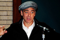 "Actor George Clooney at Press Conference .for movie ""Leatherheads"" in 2008 George Clooney"