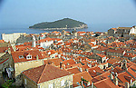 Old Town and Adriatic Sea view of Dubrovnik, Croatia