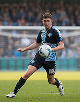Danny Rowe of Wycombe Wanderers in action during the Sky Bet League 2 match between Wycombe Wanderers and Northampton Town at Adams Park, High Wycombe, England on 3 October 2015. Photo by Andy Rowland.