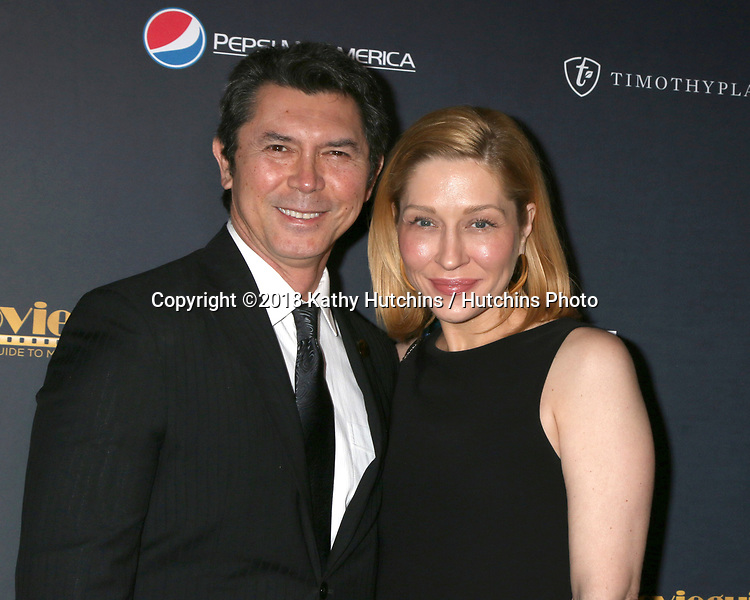 LOS ANGELES - FEB 2:  Lou Diamond Phillips, Yvonne Boismier Phillips at the 26th MovieGuide Awards at the Universal Hilton Hotel on February 2, 2018 in Universal City, CA