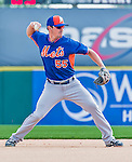 5 March 2015: New York Mets infielder Matt Reynolds warms up prior to a Spring Training game against the Washington Nationals at Space Coast Stadium in Viera, Florida. The Mets fell to the Nationals after a late inning rally, dropping a 5-4 Grapefruit League game. Mandatory Credit: Ed Wolfstein Photo *** RAW (NEF) Image File Available ***