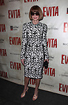 Anna Wintour.attending the Broadway Opening Night Performance of 'EVITA' at the Marquis Theatre in New York City on 4/5/2012 © Walter McBride / WM Photography