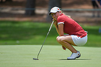 Ceilia Barquin Arozamena (a)(ESP) waits to putt on 10 during round 2 of the U.S. Women's Open Championship, Shoal Creek Country Club, at Birmingham, Alabama, USA. 6/1/2018.<br /> Picture: Golffile | Ken Murray<br /> <br /> All photo usage must carry mandatory copyright credit (&copy; Golffile | Ken Murray)