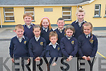 Students at Anabla National School who will get a new classroom and toilet block thanks to the support of the Parents Council 'Buy A Block' campaign .Back L-R Conor McCarthy, Shauna O'Leary, Leo Robert O'Sullivan and Niamh Fitzgerald .Front L-R Aileen Keane, Ewan Evans, Ruth Doyle and E?abha Dwyer.