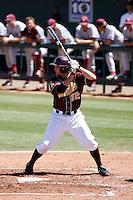Jared McDonald - 2009 Arizona State Sun Devils .Photo by:  Bill Mitchell/Four Seam Images