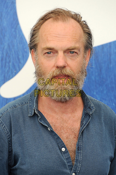 VENICE, ITALY - SEPTEMBER 4: Hugo Weaving attends a photo call for Hacksaw Ridge during the 73rd Venice Film Festival on September 4, 2016 in Venice, Italy.<br /> CAP/BEL<br /> &copy;BEL/Capital Pictures