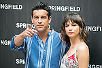 Mario Casas and Ursula Corbero during the presentation of the new summer campaign of Springfield in Madrid. May 04, 2016. (ALTERPHOTOS/Borja B.Hojas)