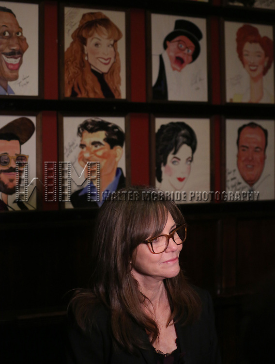 "Sally Field attends the Broadway Opening Night After Party for ""The Glass Menagerie'"" at Sardi's on March 9, 2017 in New York City."