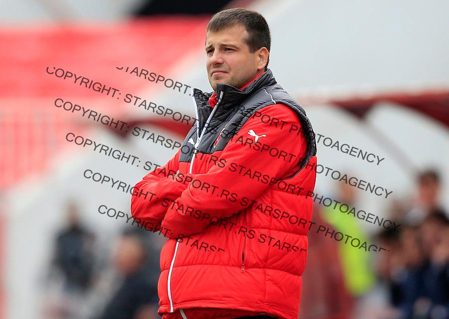 Fudbal Jelen Super League season 2014-2015 <br /> Donji Srem v Crvena Zvezda<br /> head coach Nenad Lalatovic<br /> Novi Sad, 29.04.2015.<br /> foto: Srdjan Stevanovic/Starsportphoto&copy;