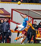 31.3.2018: Motherwell v Rangers: <br /> James Tavernier and Ryan Bowman