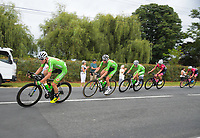 Oliver's Real Food Racing. Circuit of Champions, stage five of the 2019 Grassroots Trust NZ Cycle Classic UCI 2.2 Tour from Cambridge, New Zealand on Sunday, 27 January 2019. Photo: Dave Lintott / lintottphoto.co.nz