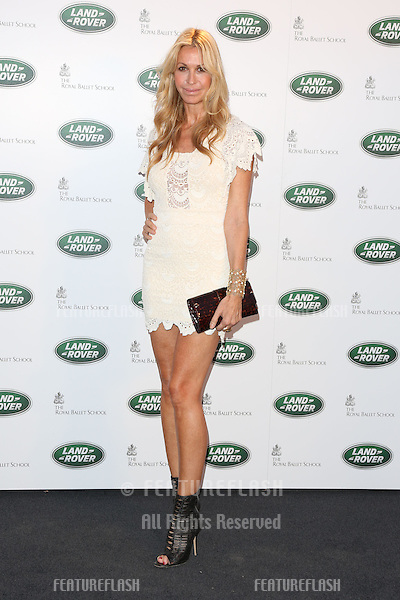 Melissa Odabash arriving for the all new Range Rover unveiling, London. 06/09/2012 Picture by: Henry Harris / Featureflash