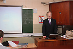 EU Official Noel Farrell at St Josephs 18/2/13