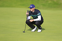 Matt Wallace (ENG) on the 12th green during Thursday's Round 1 of the 148th Open Championship, Royal Portrush Golf Club, Portrush, County Antrim, Northern Ireland. 18/07/2019.<br /> Picture Eoin Clarke / Golffile.ie<br /> <br /> All photo usage must carry mandatory copyright credit (© Golffile | Eoin Clarke)