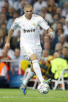 2011.10.18 Spain, Champions League, Gropu D, Matchday 3 Real Madrid vs Olympique Lyonnais. Picture show Karim Benzema.