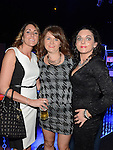 Sasha and Janine Johnston and Claire Duffy pictured at the benefit night for DJ Tayo Sheridan in Galaxy Night Club. Photo:Colin Bell/pressphotos.ie