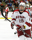 Alex Killorn (Harvard - 19) scored on the powerplay making it 3-2 SLU which would stand as the final score. - The St. Lawrence University Saints defeated the Harvard University Crimson 3-2 on Friday, November 20, 2009, at the Bright Hockey Center in Cambridge, Massachusetts.