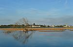 Bords de Loire aux alentours de Saint-Mathurin et Blaison-Gohier (49).