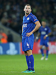 Leicester's Danny Drinkwater in action during the Champions League group B match at the King Power Stadium, Leicester. Picture date November 22nd, 2016 Pic David Klein/Sportimage