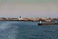 The port of Calais in France. Wednesday 04 September 2019