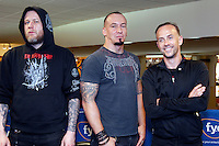 Behemoth pictured at a meet and greet at FYE in Philadelphia, Pa on May 6, 2012 © Star Shooter / MediaPunch Inc.