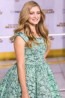 LOS ANGELES, CA, USA - NOVEMBER 17: Willow Shields arrives at the Los Angeles Premiere Of Lionsgate's 'The Hunger Games: Mockingjay, Part 1' held at Nokia Theatre L.A. Live on November 17, 2014 in Los Angeles, California, United States. (Photo by Rudy Torres/Celebrity Monitor)