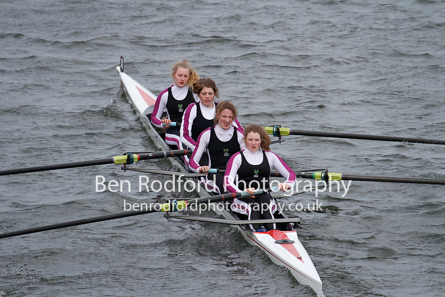 Crew: 342  Bedford Girls Sch RC  Event: Girls Fours<br /> <br /> Schools' Head of the River 2017<br /> <br /> To purchase this photo, or to see pricing information for Prints and Downloads, click the blue 'Add to Cart' button at the top-right of the page.