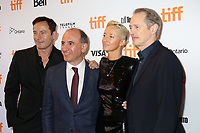 JASON ISAACS, DIRECTOR ARMANDO IANNUCCI, ANDREA RISEBOROUGH AND STEVE BUSCEMI - RED CARPET OF THE FILM 'THE DEATH OF STALIN' - 42ND TORONTO INTERNATIONAL FILM FESTIVAL 2017 . TORONTO, CANADA, 09/09/2017. # FESTIVAL DU FILM DE TORONTO - RED CARPET 'THE DEATH OF STALIN'