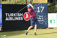 Padraig Harrington (IRL) during Wednesday's Pro-Am of the 2018 Turkish Airlines Open hosted by Regnum Carya Golf &amp; Spa Resort, Antalya, Turkey. 31st October 2018.<br /> Picture: Eoin Clarke | Golffile<br /> <br /> <br /> All photos usage must carry mandatory copyright credit (&copy; Golffile | Eoin Clarke)