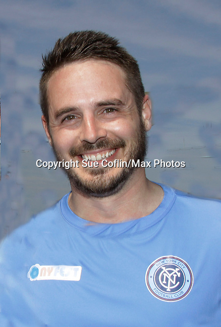 Celebs - One Life To Live and One Tree Hill Brett Claywell and more participated in NYFEST - a celebrity soccer tournament lasting all day on April 19, 2014 at Pier 5, Brooklyn Bridge Park, Brooklyn, New York.  (Photo by Sue Coflin/Max Photos)