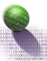 Computer code concept
