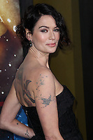 "HOLLYWOOD, LOS ANGELES, CA, USA - MARCH 04: Lena Headey at the Los Angeles Premiere Of Warner Bros. Pictures And Legendary Pictures' ""300: Rise Of An Empire"" held at TCL Chinese Theatre on March 4, 2014 in Hollywood, Los Angeles, California, United States. (Photo by Xavier Collin/Celebrity Monitor)"